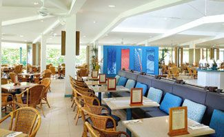 Heron Island Resort dining