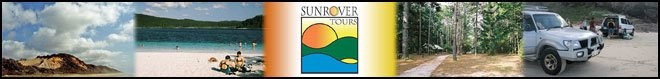 Sunrover Fraser Island 1 Day Tour Ex Brisbane