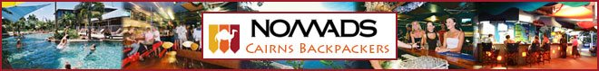 Nomads Cairns Backpackers Hostel banner