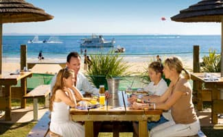 Tangalooma Beachfront Dining