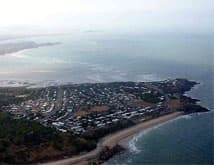 Aerial view of Mackay